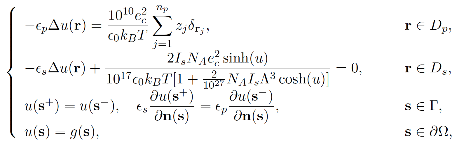 SMPBE equations